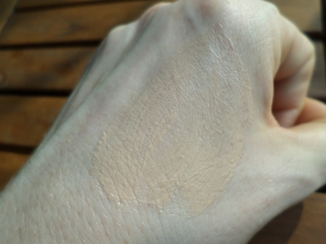 Nature Republic Super Origin Tinted CC Cream swatched onto me hand, innit? ;)
